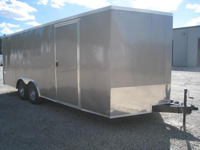 2018 Pace American Journey 8.5 X 20 Vnose Cargo Trailer