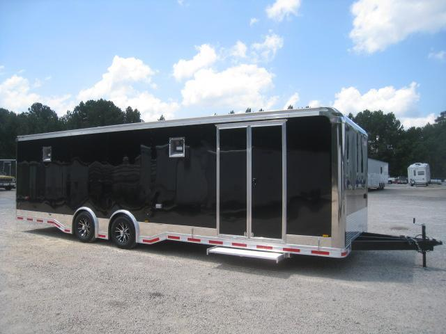2019 Pace American Shadow 28 Car / Racing Trailer in Black