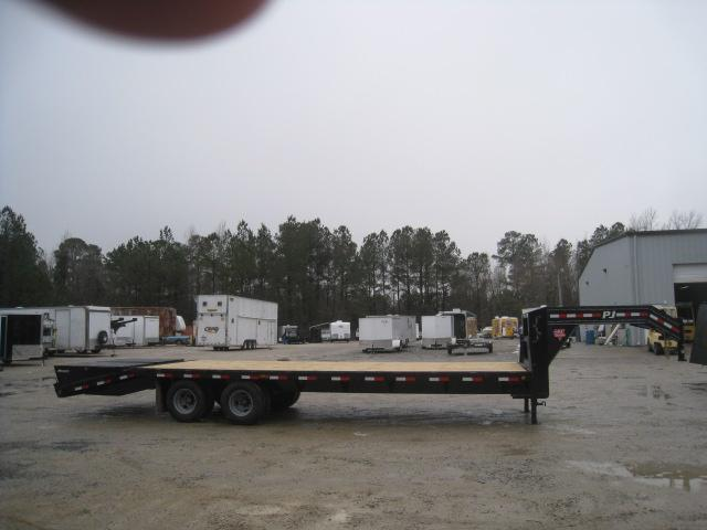 2019 PJ Trailers FD 28' Gooseneck Dual Tandem Deckover Equipment Trailer