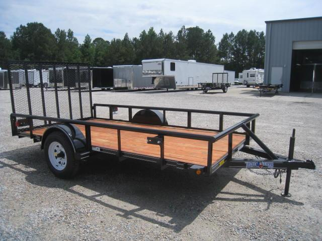 2017 Texas Bragg Trailers 6 X 12 Utility Trailer w/ Rear Gate