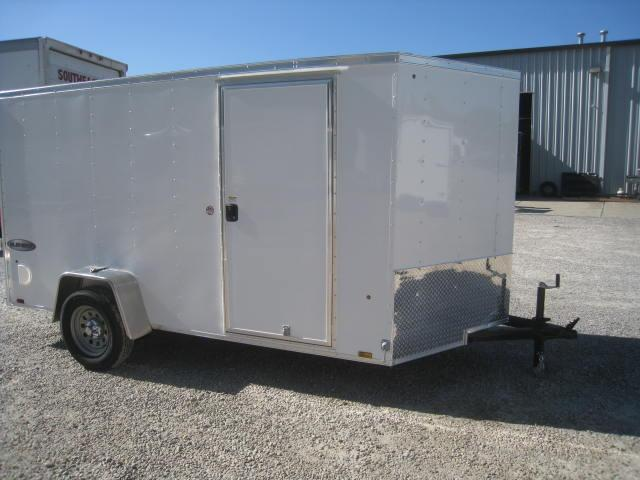 2018 Look Element 6 X 12 Vnose Enclosed Cargo Trailer