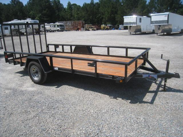 2018 Texas Bragg Trailers 6X14P Utility Trailer with Heavy Duty Tailgate