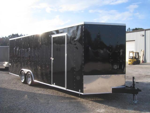 2019 Cargo Express XLW 8.5X24 Car / Racing Trailer with 5200lb Axles