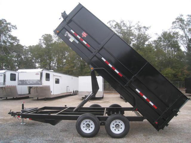 "2018 PJ D9 16 X 83"" Dump Trailer w/ Side Extensions"