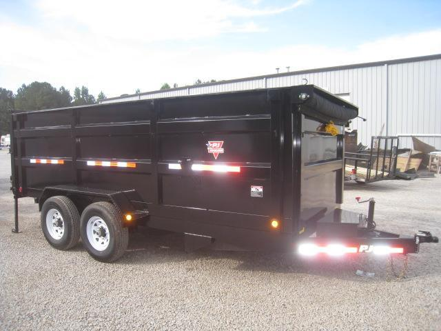 "2019 PJ Trailers DC 16' X 83"" Dump Trailer with High Sides"