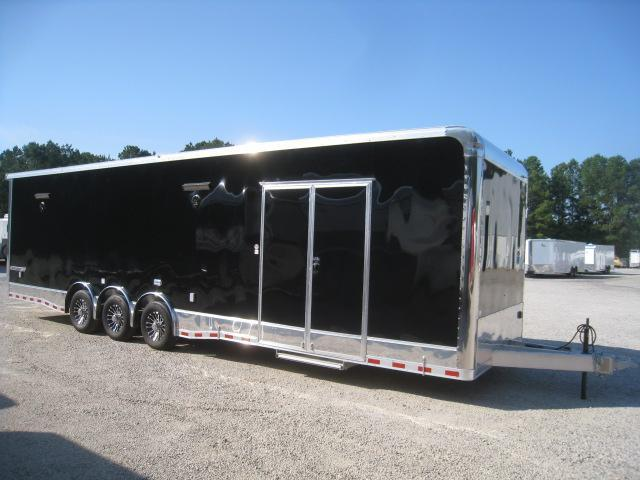2020 Cargo Mate Aluminum Eliminator 32 Car / Racing Trailer