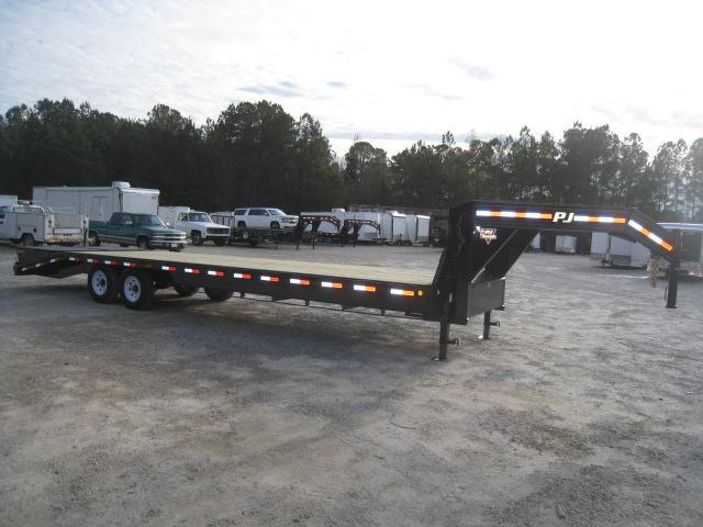 2019 PJ Trailers FS 30 Deckover Gooseneck Equipment Trailer