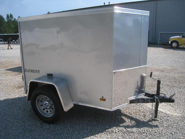 2017 Look Element 4 X 6 Vnose Enclosed Cargo Trailer