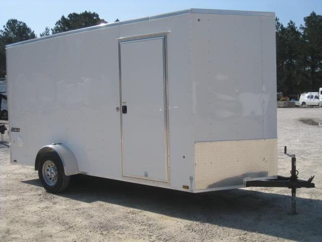 2019 Pace American Journey 6x14 Enclosed Cargo Trailer with 7' Inside Height