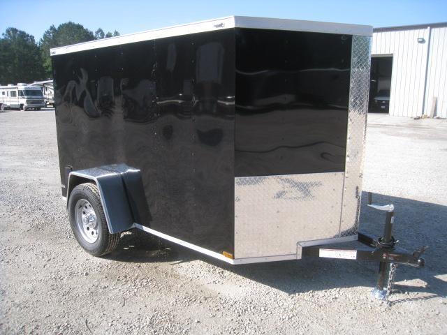 2019 Lark 5 X 8 Vnose Enclosed Cargo Trailer