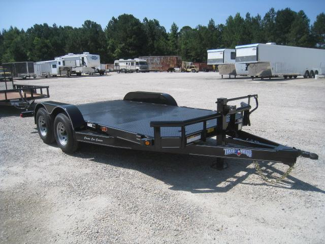 2018 Texas Bragg Trailers 16 Classic Car Carrier Car / Racing Trailer with Heavy Axles and Full Metal Deck