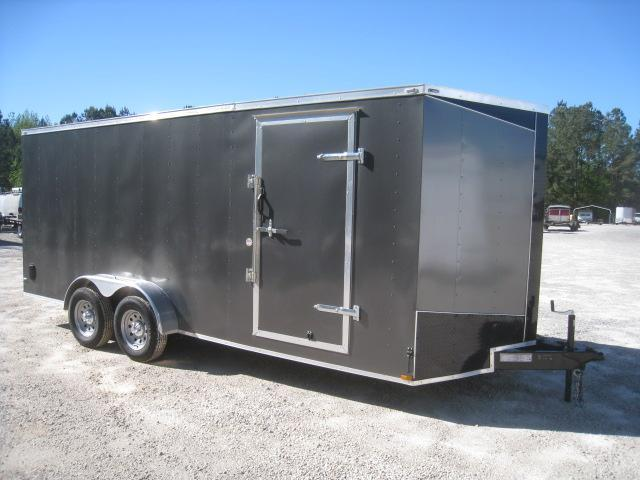 2019 Lark 7 X 18 Vnose Enclosed Cargo Trailer