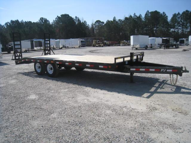 2018 PJ Trailers F8 20' Deckover Equipment Trailer