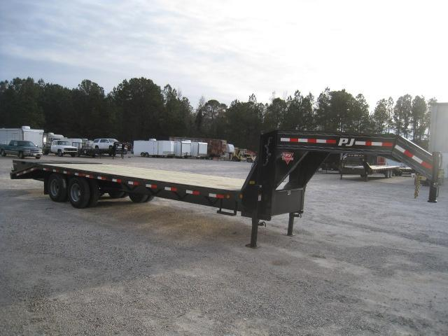 2019 PJ Trailers FD 23 + 5 Gooseneck Equipment Trailer