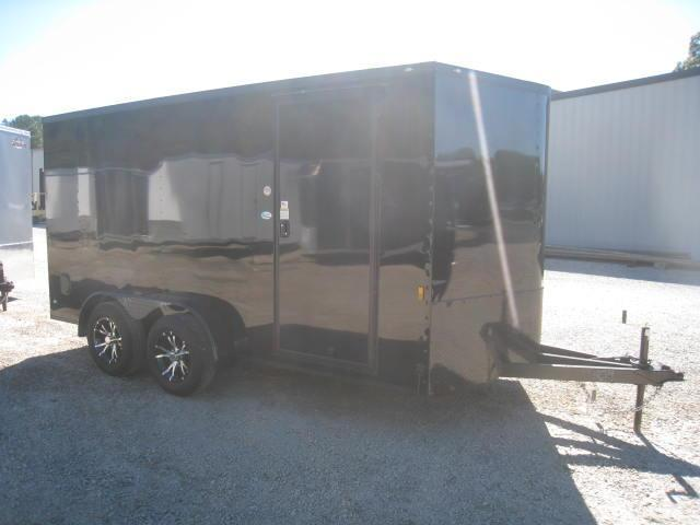 2018 Continental Cargo Sunshine 7 X 14 Vnose Enclosed
