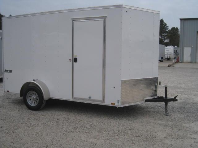 2019 Pace American Journey 6x12 Vnose with 7' Inside Height