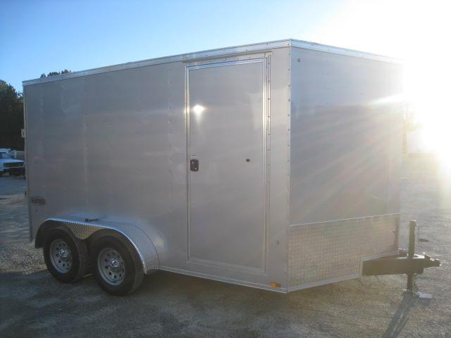 2019 Cargo Express XLW 7 x 12 Vnose Enclosed Cargo Trailer with Ramp Door
