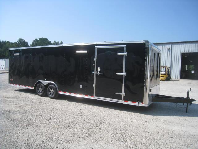 2018 Continental Cargo Sunshine 8.5 X 28 Car Trailer