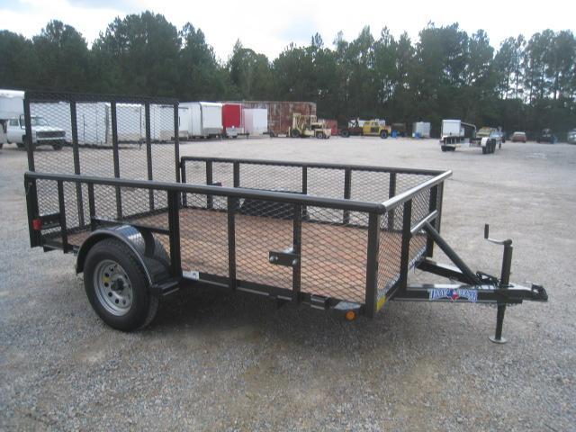 "2018 Texas Bragg Trailers 6X10P Utility Trailer with 24"" Expanded Metal Sides"