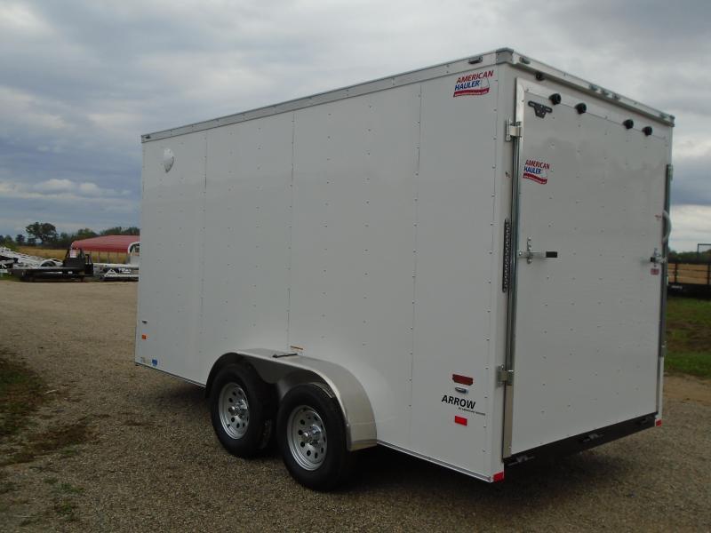 2019 American Hauler Industries 7x14 Arrow Enclosed Cargo Trailer
