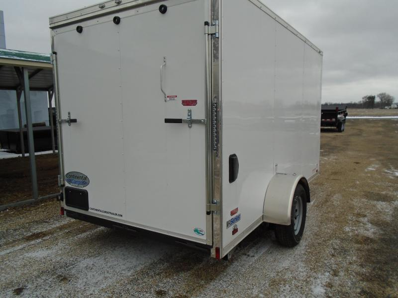 2018 Continental Cargo V 6x12 Series Enclosed Cargo Trailer