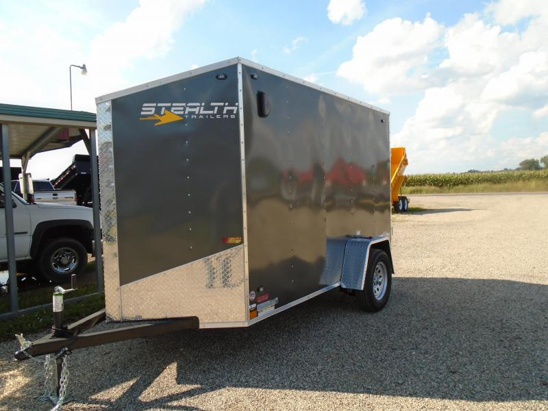 2019 Stealth Trailers 5x10 Mustang Enclosed Cargo Trailer