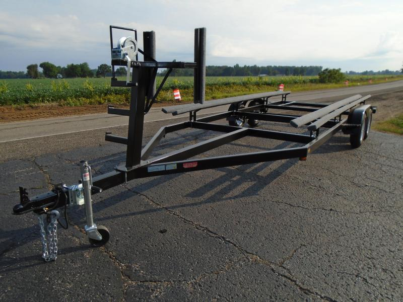 2020 GE 22' Float on or Centerlift 7k Pontoon Trailer