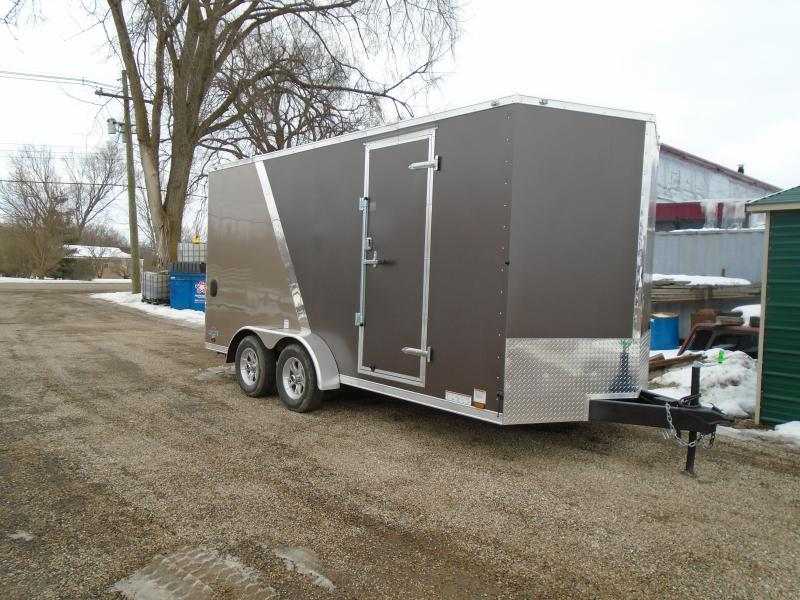 2018 Continental Cargo V Series Enclosed Cargo Trailer
