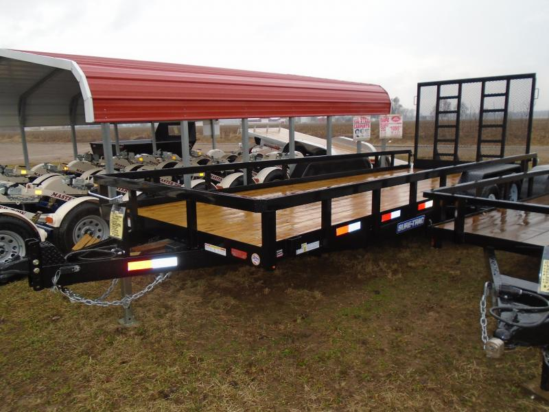 2017 Sure-Trac Heavy Duty Landscape Utility Trailer
