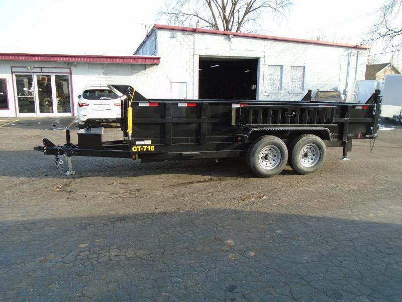 2019 Interstate DTLP716TA5 14K Dump Trailer