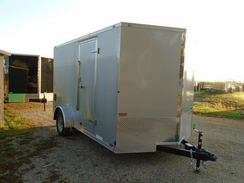 2019 Continental Cargo 7x12 V Series Enclosed Cargo Trailer