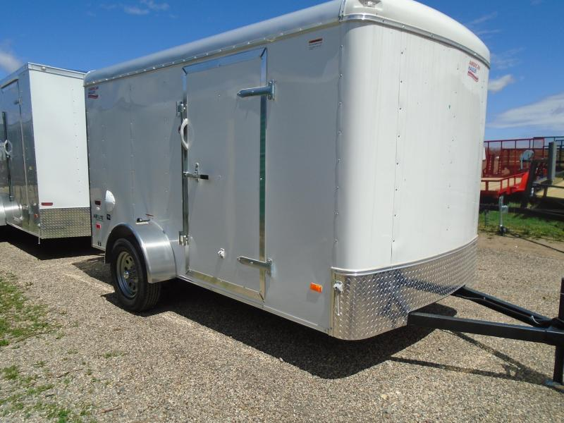 2018 American Hauler 6x12 Airlite enclosed trailer
