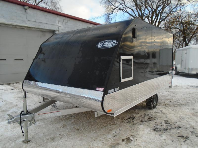 2018 Cargo Express 8.5x12 Apex Snowmobile Trailer