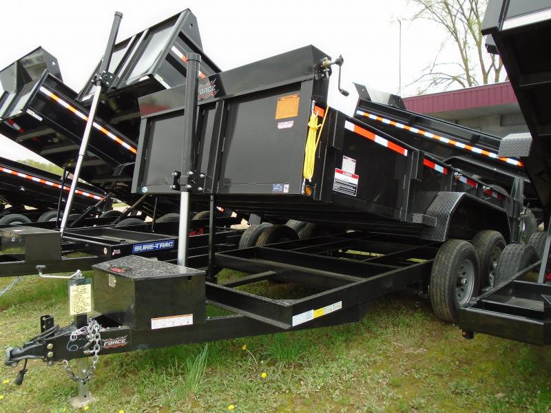 2017 Forest River Inc. 82X14 Force Dump Trailer