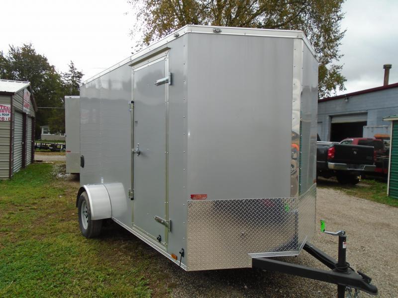 2019 Continental Cargo 6x12 V Series Enclosed Cargo Trailer