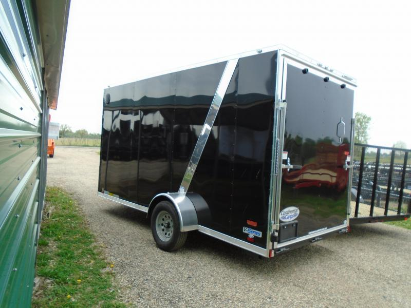 2019 Continental Cargo 6.5x14 V Series Enclosed Cargo Trailer