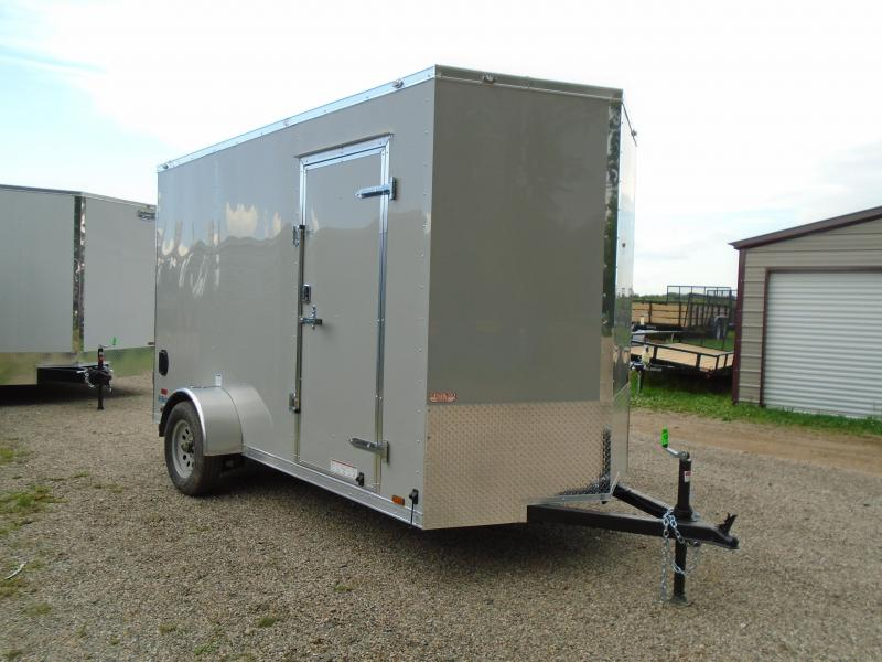 2019 Continental Cargo 6x12 V Series Enclosed Cargo Trailer
