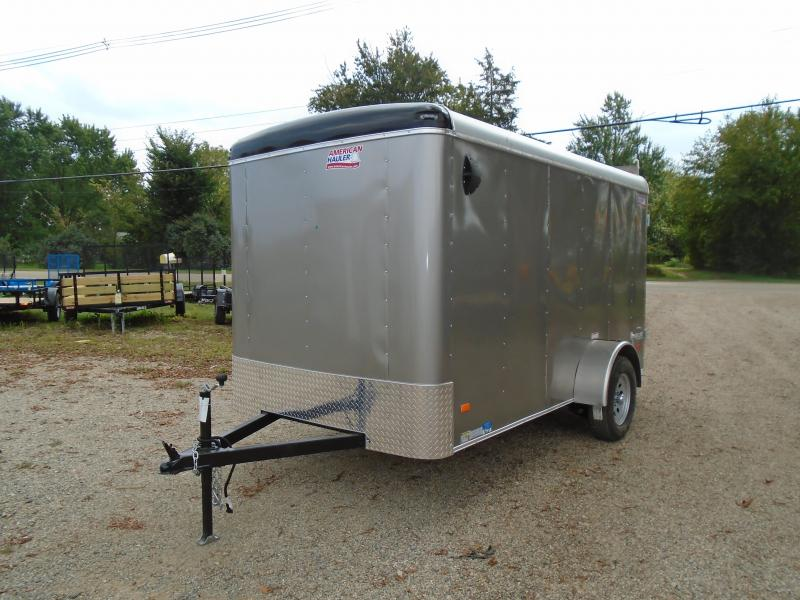 2019 American Hauler Industries 6X12 Airlite Enclosed Cargo Trailer