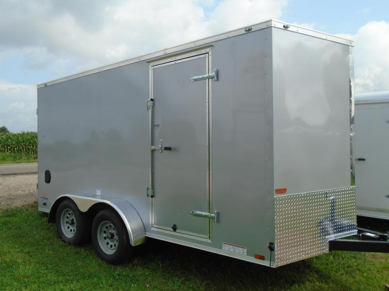 2019 Continental Cargo 7x14 V Series Enclosed Cargo Trailer