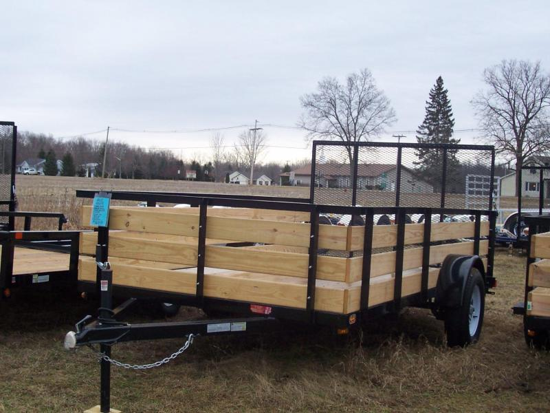 5 X10 Mulch \ 3 board trailers