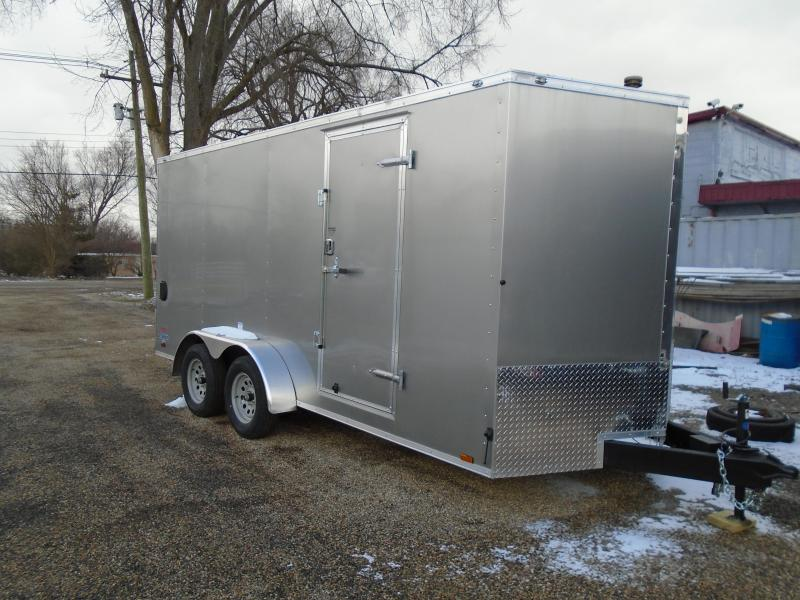 2018 Continental Cargo V Series 7x16 Enclosed Cargo Trailer