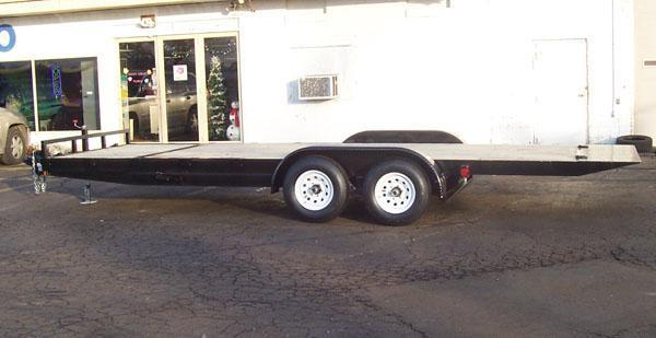 GE 22' Tilt Trailer 3.5K Axles 7K GVWR