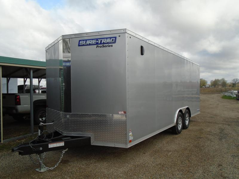 2019 Sure-Trac 8.5x20 10k Pro Series Car / Racing Trailer