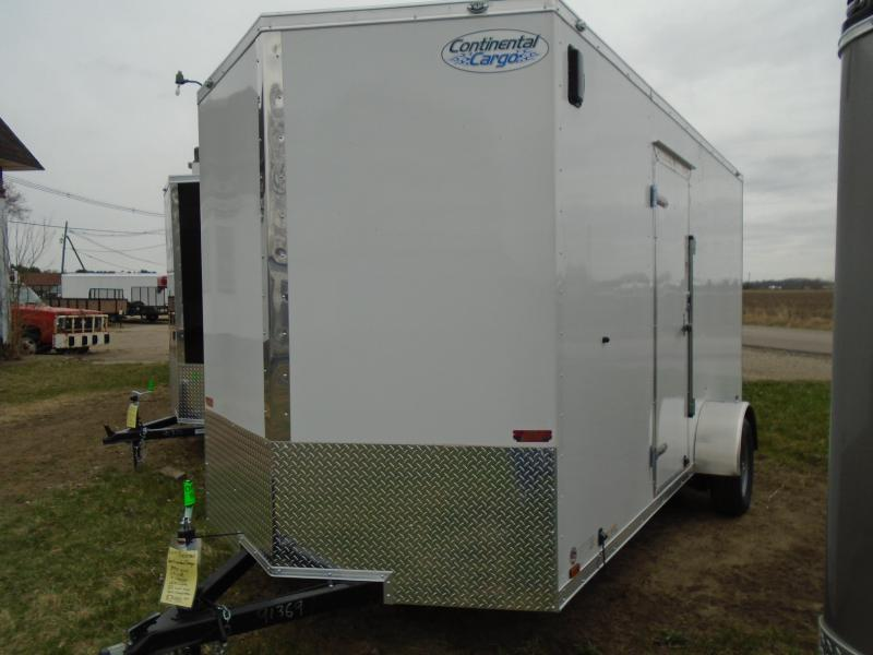 2020 Continental Cargo 6.5x14 V Series SA Enclosed Cargo Trailer