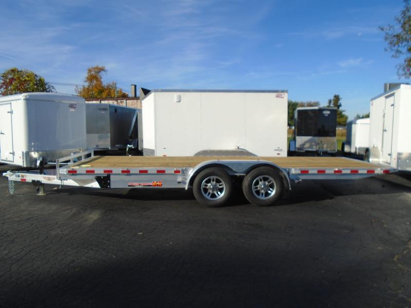 H and H Aluminum 8.5 X 18 Speed Loader MX  Trailer