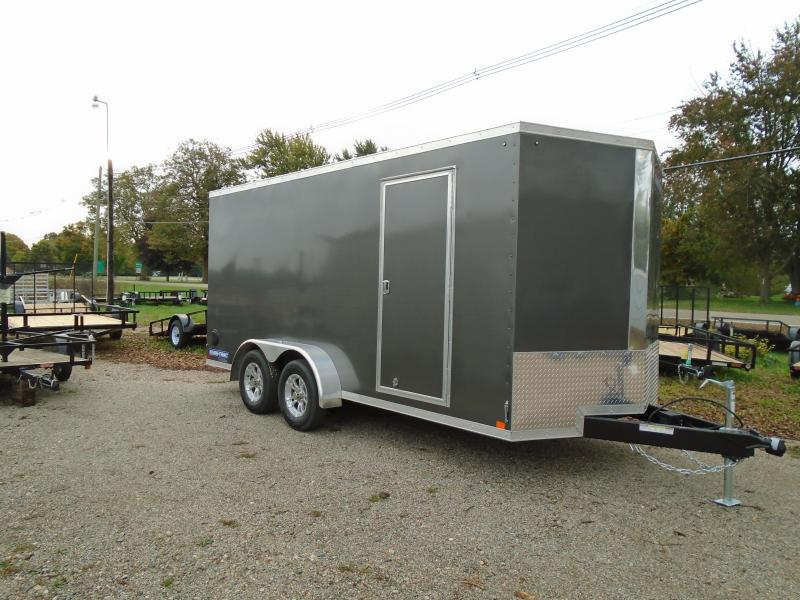 2019 Sure-Trac Pro Series 7x16 Enclosed Cargo Trailer