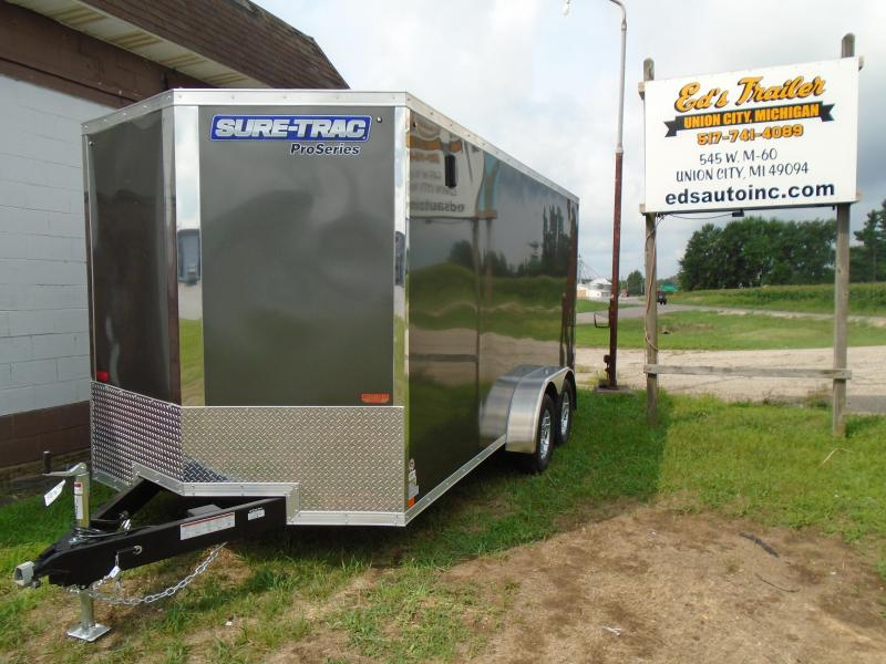 2019 Sure-Trac 7x16 Pro Series Enclosed Cargo Trailer