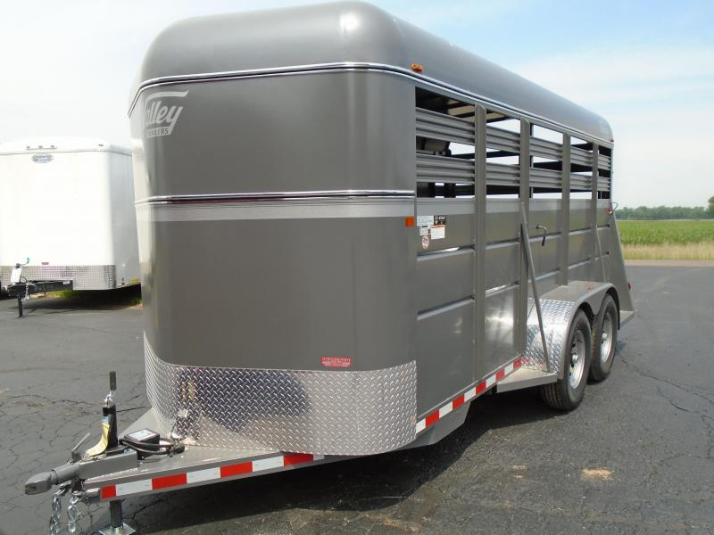 2019 Valley Trailers 6.8x16  26816 HD STOCK BP 7 Livestock Trailer