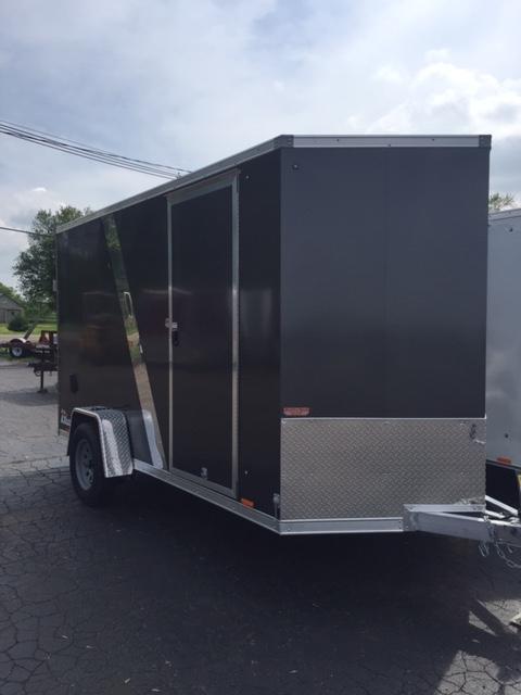 2020 Cargo Express 6x12 SA Aluminum Enclosed Cargo Trailer