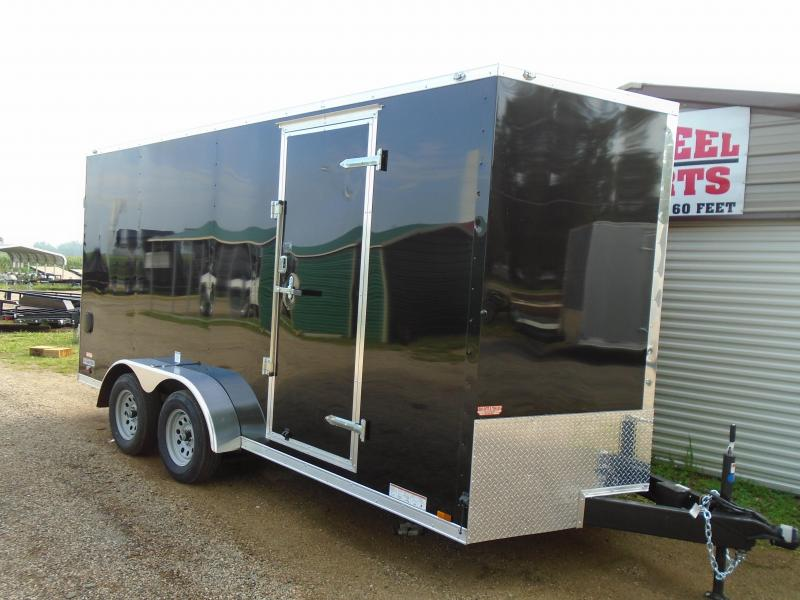 2019 Continental Cargo 7x16 V Series Enclosed Cargo Trailer